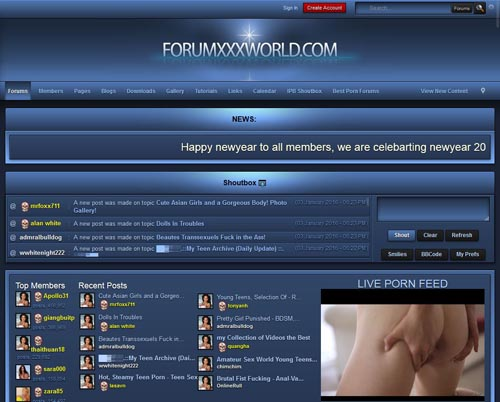 potn forum