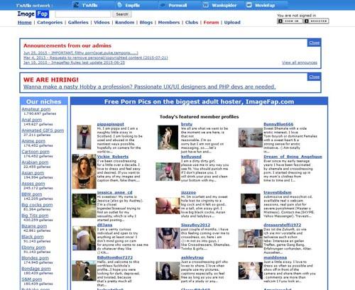 sites like imagefap