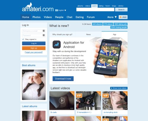 Amaterski porno blogspot